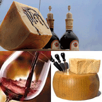 Parmigiano cheese, wine cellar, balsamic vinegar